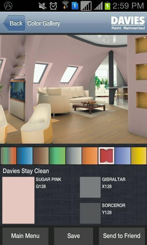 Enjoy painting favorite shades on your dream home. This can be done through Davies iColor app by Davies Paints Reinvented.
