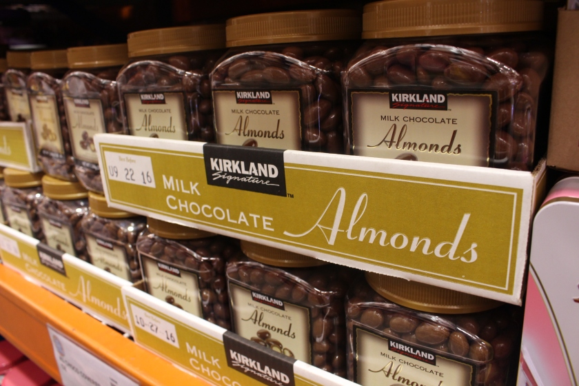 5 Kirkland Almonds
